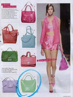 Gabsin Kenzia -laukku italialaisen Tu Style -lehden kesäkuun numerossa Bags, Style, Fashion, Handbags, Swag, Moda, Fashion Styles, Fashion Illustrations, Bag