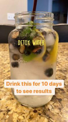Healthy Water, Healthy Detox, Healthy Juices, Healthy Smoothies, Healthy Drinks, Healthy Snacks, Healthy Eating, Healthy Recipes, Smoothie Drinks