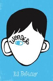 Wonder by R.J. Palacio 'I think there should be a rule that everyone in the world should get a standing ovation at least once in their lives.' ~ Auggie Pullman