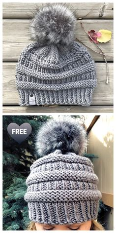 Knit Ribbed C.C Beanie Hat Free Knitting Patterns - Knitting Pattern Knit Ribbed C.C Beanie Hat Free Knitting Patterns - Knitting Pattern Knit Ribbed C.C Beanie Hat Free Knittin. Beanie Knitting Patterns Free, Beanie Pattern Free, Knitting Blogs, Free Knitting, Knitting Projects, Knitting Ideas, Crochet Cap, Crochet Beanie, Knitted Hats