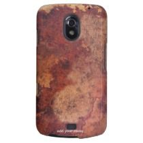 Antique Leather Samsung Galaxy Nexus Cases by Paul Stickland for PatternStore on Zazzle #leather