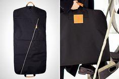 Sleek garment bag for travel