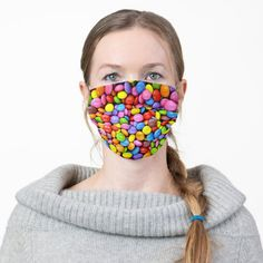 Colorful Candies Face Mask - tap/click to get yours right now! #afflink #colorful #fun #simple #candy Zentangle, Shape Of You, Heart Patterns, Vintage Design, Badminton, Art Design, Design Ideas, Ear Loop, Drawing