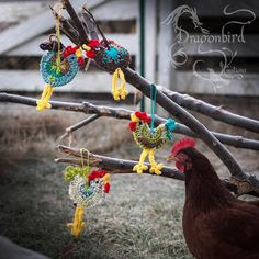 Rooster Of My Dreams Ornaments