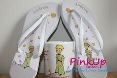 kit Caneca + Chinelo O Pequeno Principe