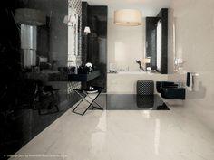 Revêtement mural en céramique pâte blanche effet marbre pour intérieur MARVEL PRO Collection Revêtements en pâte blanche by Atlas Concorde