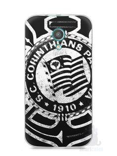 Capa Moto G2 Time Corinthians #3 - SmartCases - Acessórios para celulares e tablets :)