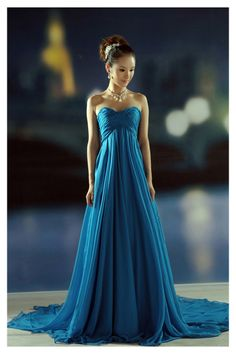 Shop New Ariival 2014 Prom Dresses A Line Empire Waist Floor Length Sweetheart Court Train Pregnant Online affordable for each occasion. Latest design party dresses and gowns on sale for fashion women and girls.