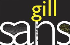 Gill Sans by Monotype. http://sincetheblog.com/2014/10/21/monotype/