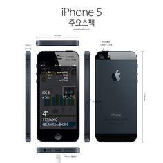 iPhone 5 주요스펙