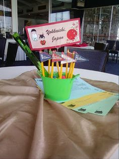 Table Decoration Ideas For Retirement Party retirement party decorations cylinders filler with loemons others wrapped with paper and filled with Teacher Retirement Party Centerpieces