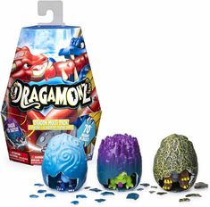 Dragamonz Dragon Multi Collectible 피규어 and Trading Card Game for Kids Aged 5 and Up Stocking Stuffers For Boys, Best Action Figures, Promotion Card, Dollar Items, Card Games For Kids, Action Figure Display, Battle Games, Collector Cards, Toys For Boys