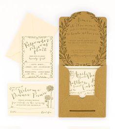 French Garden party invites, garden party, paper, card, card design, wedding invitations