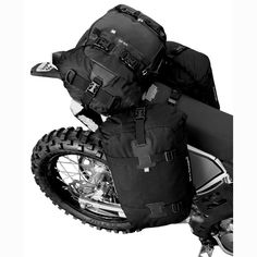 Bug-Our-Bags for motorcycles saddle strapped style... Kriega.