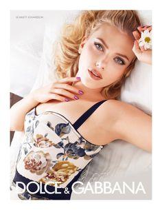 Scarlett Johansson for Dolce & Gabbana Beauty Summer 2011 Campaign