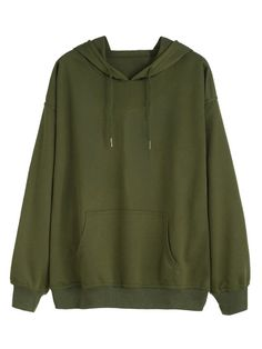 Cheap sweatshirts blue, Buy Quality sweatshirt ymcmb directly from China pullover women Suppliers: Dotfashion Army Green Drawstring Pocket Hooded Tops Women Solid Clothing Long Sleeve Pullovers Sweatshirt Green Long Sleeve Shirt, Green Shirt, Hoodie Sweatshirts, Sweat Shirt, Olive Green Hoodie, Mode Style, Army Green, Military Green, Designer