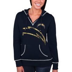 San Diego Chargers Women's Plus Sizes Pre-Season Favorite III Lace ...