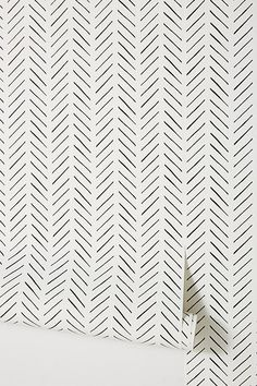 magnolia homes joanna gaines Magnolia Home Pick Up Sticks Wallpaper by in Black, Wall Decor at Anthropologie Joanna Gaines, Backgrounds White, Casas Magnolia, Look Wallpaper, Stick On Wallpaper, Modern Wallpaper, Wallpaper Accent Wall Bathroom, Office Wallpaper, Interior Wallpaper