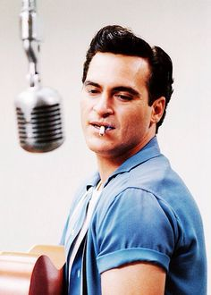 Walk the Line | Johnny Cash portrayed by Joaquin Phoenix//
