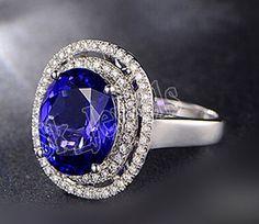 1.68ct NATURAL DIAMOND BLUE SAPPHIRE 14K black GOLD ENGAGEMENT RING  #SkBridalJewels #DiamondRing #Engagement