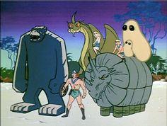 Os Herculóides (The Herculoids – 70s Cartoons, Good Cartoons, Old School Cartoons, Classic Cartoons, Cartoon Cartoon, Cartoon Tv Shows, Cartoon Characters, Thundercats, Gi Joe