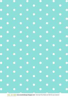 SBDMini Set di carte Verde Tiffany - Tiffany Green Mini Paper Setby SweetBioDesign
