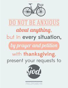Philippians 4:6. Designed by me!