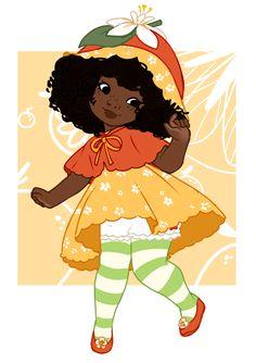 Black Cartoon Characters, Black Girl Cartoon, Black Girl Art, Black Women Art, Art Girl, Black Girls Drawing, Foto Cartoon, Cartoon Art, Fanart