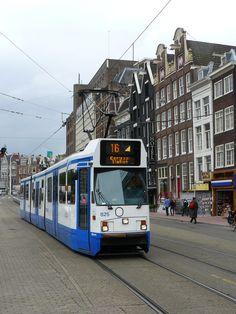 Tram, Amsterdam.