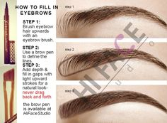 Learn How To Shape Your Eyebrows With These 3 Easy Steps.