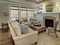 Love the restful feel and the complimentary fabrics and finishes.
