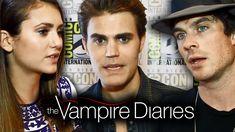 Ian Somerhalder - THE VAMPIRE DIARIES Cast Teases Season 6 - Comic-Con 2014