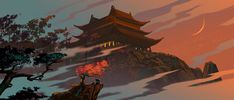 """Enjoy The Art of Kung Fu Panda 3 in a collection of Concept Art made for the movie. Continuing his """"legendary adventures of awesomeness"""", Po must face two Kung Fu Panda 3, Dreamworks Animation, Disney And Dreamworks, Panda Background, Panda Illustration, Inktober, Panda Art, Panda Wallpapers, Fantasy Places"""