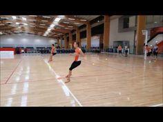 Sprint, Crossover, Sprint, Shuffle, Sprint Netball ASSA Ranell Hobson - YouTube