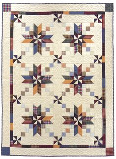 Code: ISBN: 1564773639 Author: Sally Schneider Stitch a scrap quilt in a snap, in the size you need! Let popular scrap-quilt designer Sally Schneider teach you her savvy methods for collecting, coordinating, and stitching scraps into gorgeous quilt Star Quilt Patterns, Star Quilts, Quilt Blocks, Jellyroll Quilts, Scrappy Quilts, Quilting Projects, Quilting Designs, Quilting Ideas, Sewing Projects