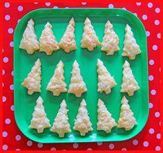 Fieve kerstboompjes bladerdeeg kaas