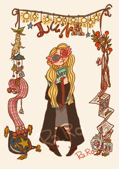 Luna Lovegood by RaRo81 on DeviantArt