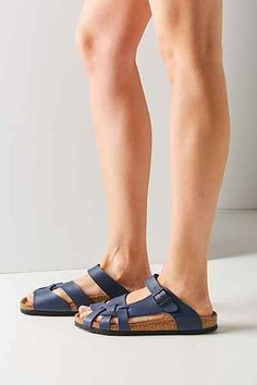 04951811f0d Birkenstock Pisa Side Braid Slide Sandal