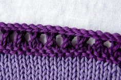 mini-tutorial :: picot hem