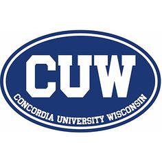 """Stockdale® Concordia University Wisconsin 3.5"""" x 5.5"""" Magnet $4.95"""