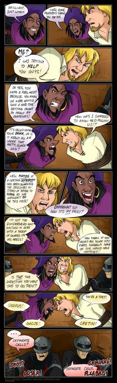 Trading Insults by Canadian-Rainwater.deviantart.com on @deviantART
