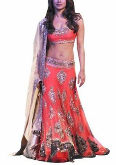 Priyanka Chopra Orange/Peach Lehenga LMMSBR86, http://www.junglee.com/dp/B00BONTBMU/ref=cm_sw_cl_pt_dp_B00BONTBMU