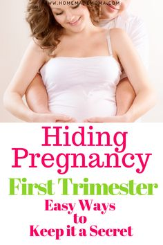 How to hide pregnancy in the first trimester tips on what to wear to keep it a secret until your ready to announce it. Simple ways to keep people from knowing until it's time. Pregnancy First, Pregnancy Early First Trimester Tips, Pregnancy First Trimester, Trimesters Of Pregnancy, First Time Pregnancy, Surprise Pregnancy, 2nd Trimester, Ectopic Pregnancy, Hiding Pregnancy, Pregnancy Tips