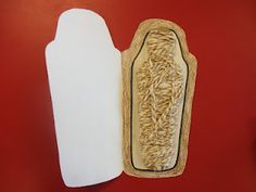 This is awesome!!!  Create a sarcophagus with a mummy inside!!!  Love it!