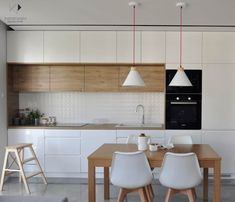 50 Best Small Kitchen Remodel Designs for Smart Space Management Ikea Kitchen, Kitchen Furniture, Kitchen Interior, Kitchen Decor, Kitchen Cabinets, Wood Furniture, Kitchen Design Open, Best Kitchen Designs, Scandinavian Kitchen