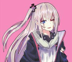 죽기직전 스타쨩 Girls Anime, Kawaii Anime Girl, Manga Girl, Cute Characters, Female Characters, Anime Characters, Desu Desu, Delta Girl, Anime Military