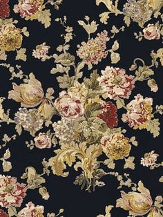 """SUSSEX GARDENS - BLACK  Retail Price: $452.00    Our Price:  $280.75 Per 5-Yard Roll  DecoratorsBest Policy    Product ID:   LWP17686W  Manufacturer:   Ralph Lauren Wallpaper  Available Colors:   Width:   27""""  Horizontal Repeat:   27""""  Vertical Repeat:   27"""""""