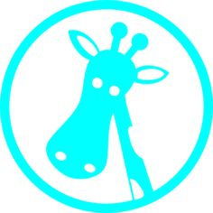 Polka Dot Giraffe Clip Art