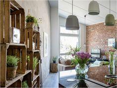 Upea loft-asunto uusimmassa Avotakassa Loft, Oversized Mirror, Furniture, Home Decor, Decoration, Ideas, Septum, Open Kitchens, Kitchen Islands