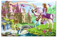 Melissa & Doug Fairy Tale Castle Floor Puzzle by Melissa & Doug, http://www.amazon.com/dp/B0019RH5P6/ref=cm_sw_r_pi_dp_IMgTqb1E1KDKS